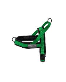 Lucky + Dog Quick Fit Harness Green Medium
