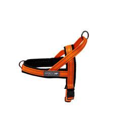 Lucky + Dog Quick Fir Harness Orange X-Large