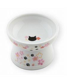 Necoichi Raised Cat Food Bowl - Sakura