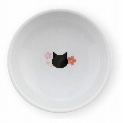 Nechoichi Necoichi Raised Cat Water Bowl - Sakura