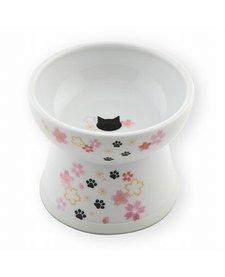 Necoichi Raised Cat Water Bowl - Sakura