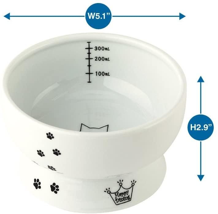 Nechoichi Necoichi Raised Cat Water Bowl