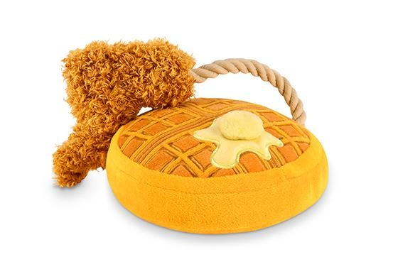 PLAY Barking Brunch Chicken and Woofles Toy