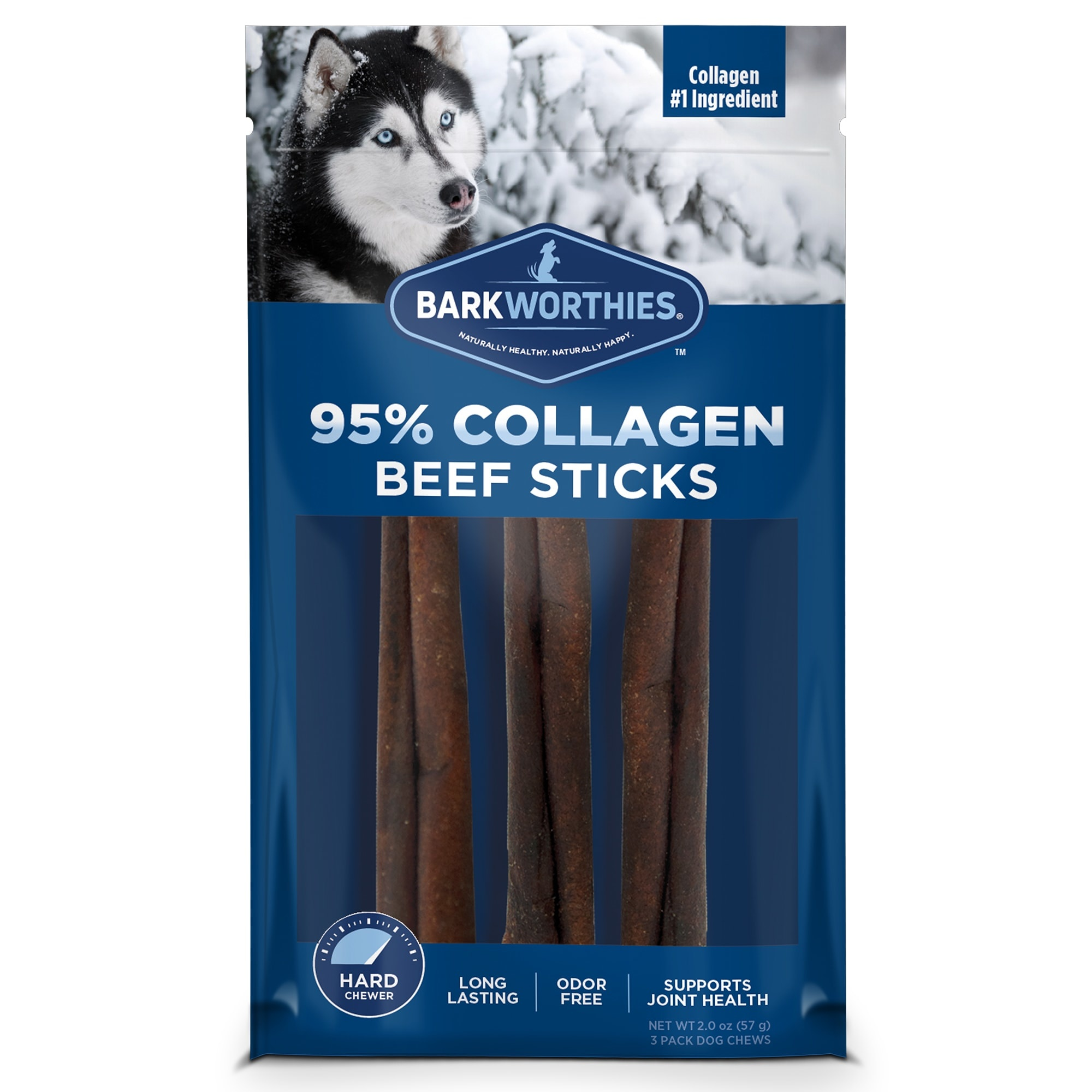Barkworthie's Barkworthies Collagen Beef Sticks 2 oz