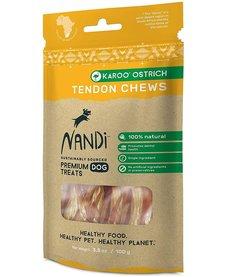 Nandi Karoo Ostrich Tendon Chews 3.5 oz