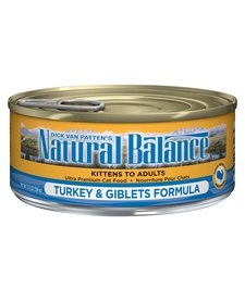Natural Balance Cat Turkey & Giblets 5.5oz