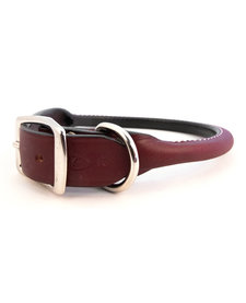 ALC Rolled Collar 1X22 Burgundy