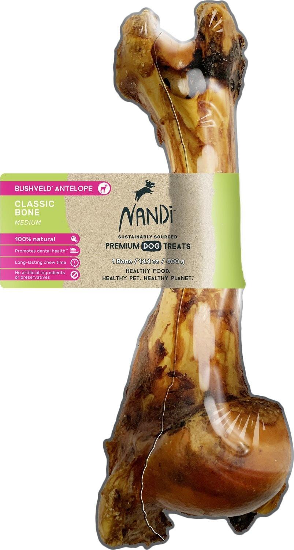 Nandi Nandi Bushveld Antelope Classic Bone MD