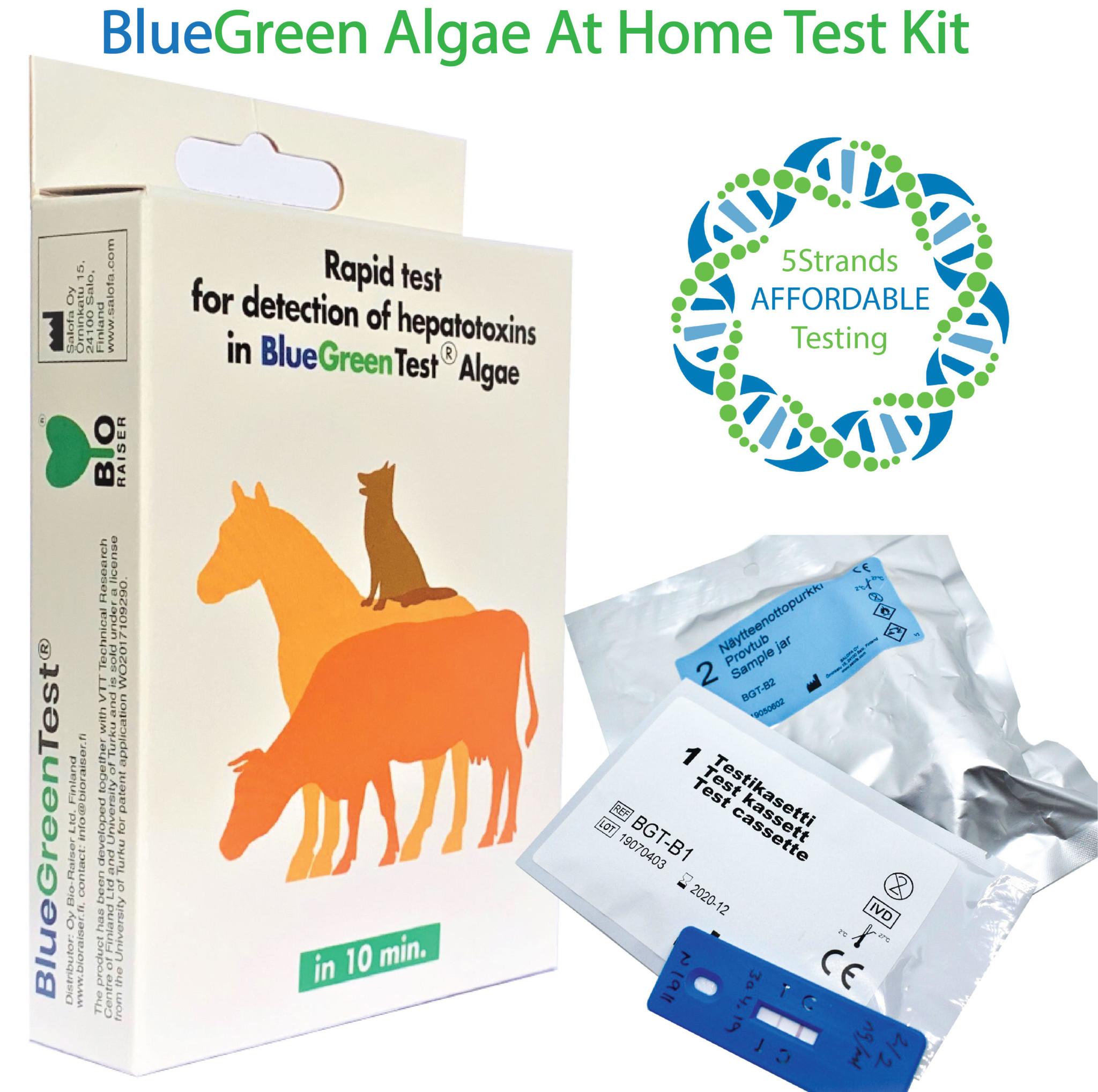 Bio-Raiser Bio-Raiser BlueGreenTest Algae Test Kit