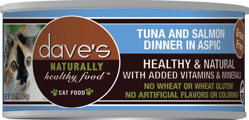 Dave's Dave's Tuna and Salmon 5.5oz