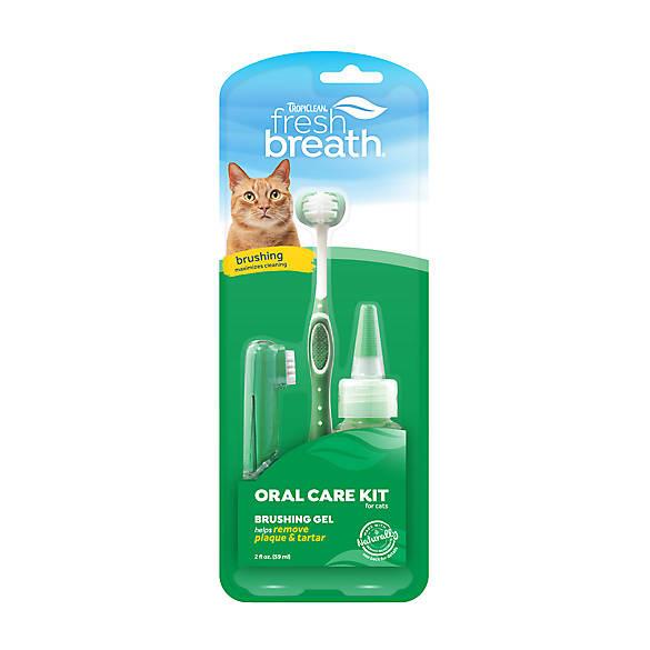 Tropiclean Fresh Breath Total Care Kit Cats
