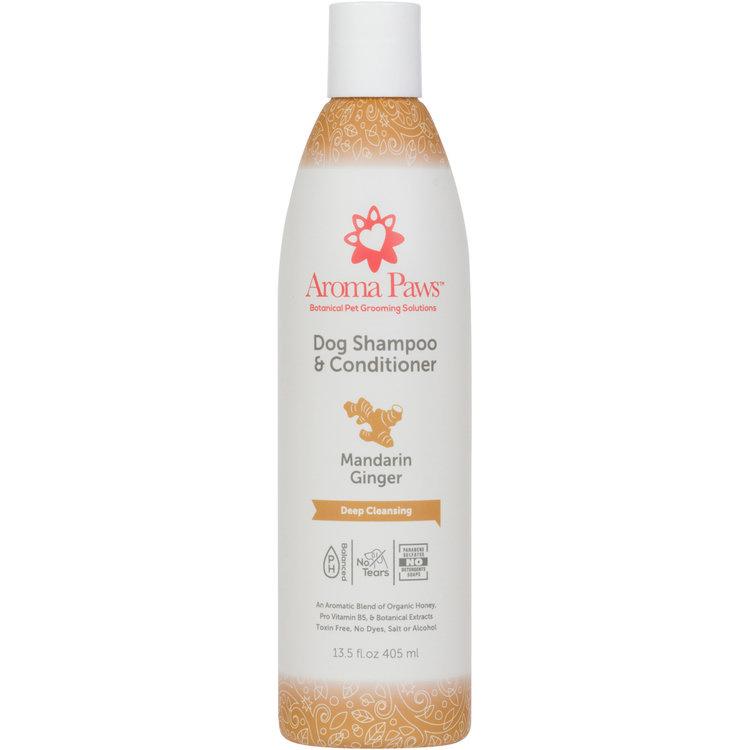 Aroma Paws Aroma Paws Shampoo & Conditioner Mandarin Ginger 13.5 oz