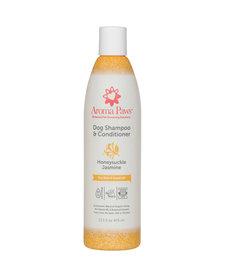 Aroma Paws Shampoo & Conditioner Honeysuckle Jasmine 13.5 oz