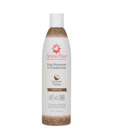 Aroma Paws Shampoo & Conditioner Coconut Papaya 13.5 oz