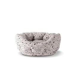 Pet Shop by Fringe Studio Pet Shop Nosey Dog Spot Round Cuddler SM