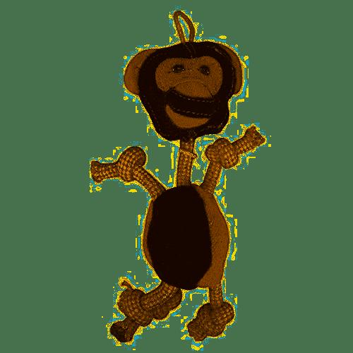 Aussie Naturals Aussie Naturals Wiggly Monkey Dog Toy SM