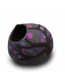 Friendsheep Eco Kitty Cave Purple Rain