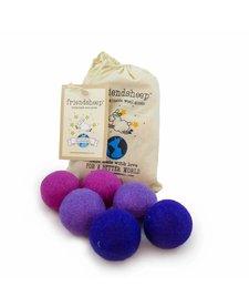 Friendsheep Eco Balls Purple Rain 6 pack