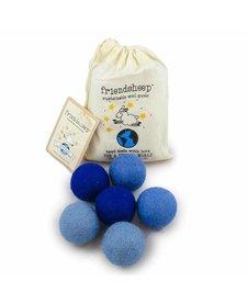 Friendsheep Eco Balls Blue 6 pack