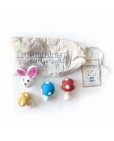 Friendsheep Enchanted Forest Pink 4 pack