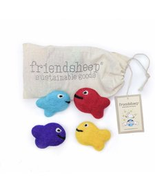 Friendsheep Frank the Reef Fish Family 4 pack