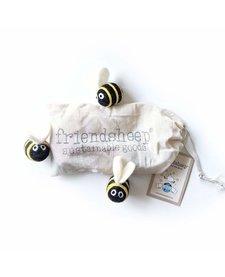 Friendsheep Berta The Honeybee and Sisters 3 pack