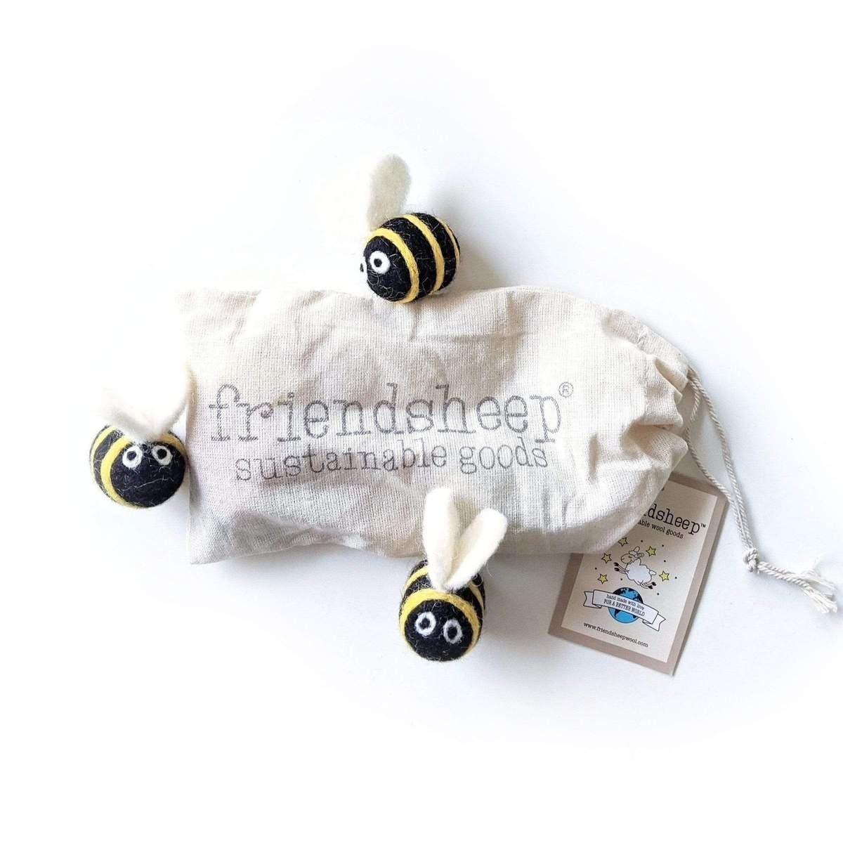 Friendsheep Friendsheep Berta The Honeybee and Sisters 3 pack