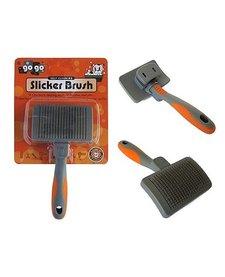 GoGo Self Cleaning Slicker Brush SM