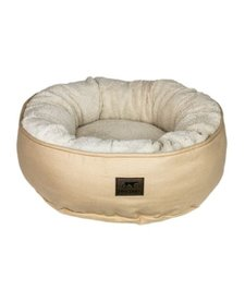 Tall Tails Dream Chaser Donut Bed Khaki SM