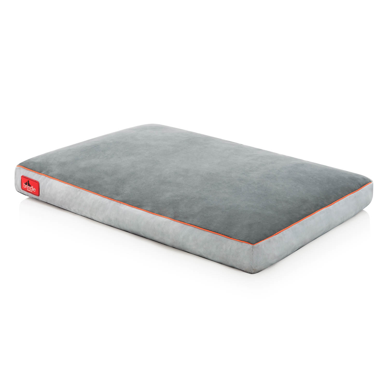 "Brindle Shred Foam Bed 22"" Stone"