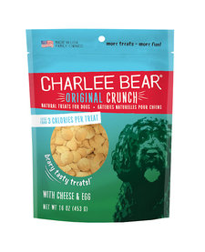 Charlee Bear Cheese & Egg Treats 16 oz