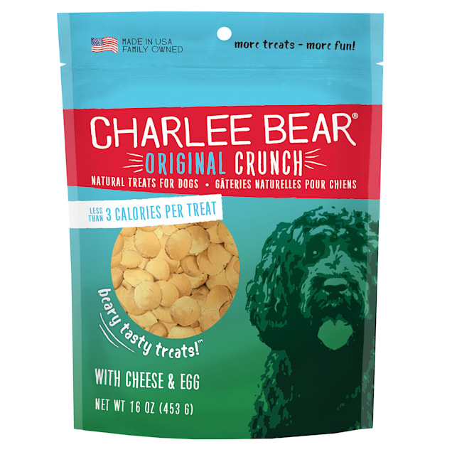Charlee Bear Charlee Bear Cheese & Egg Treats 16 oz