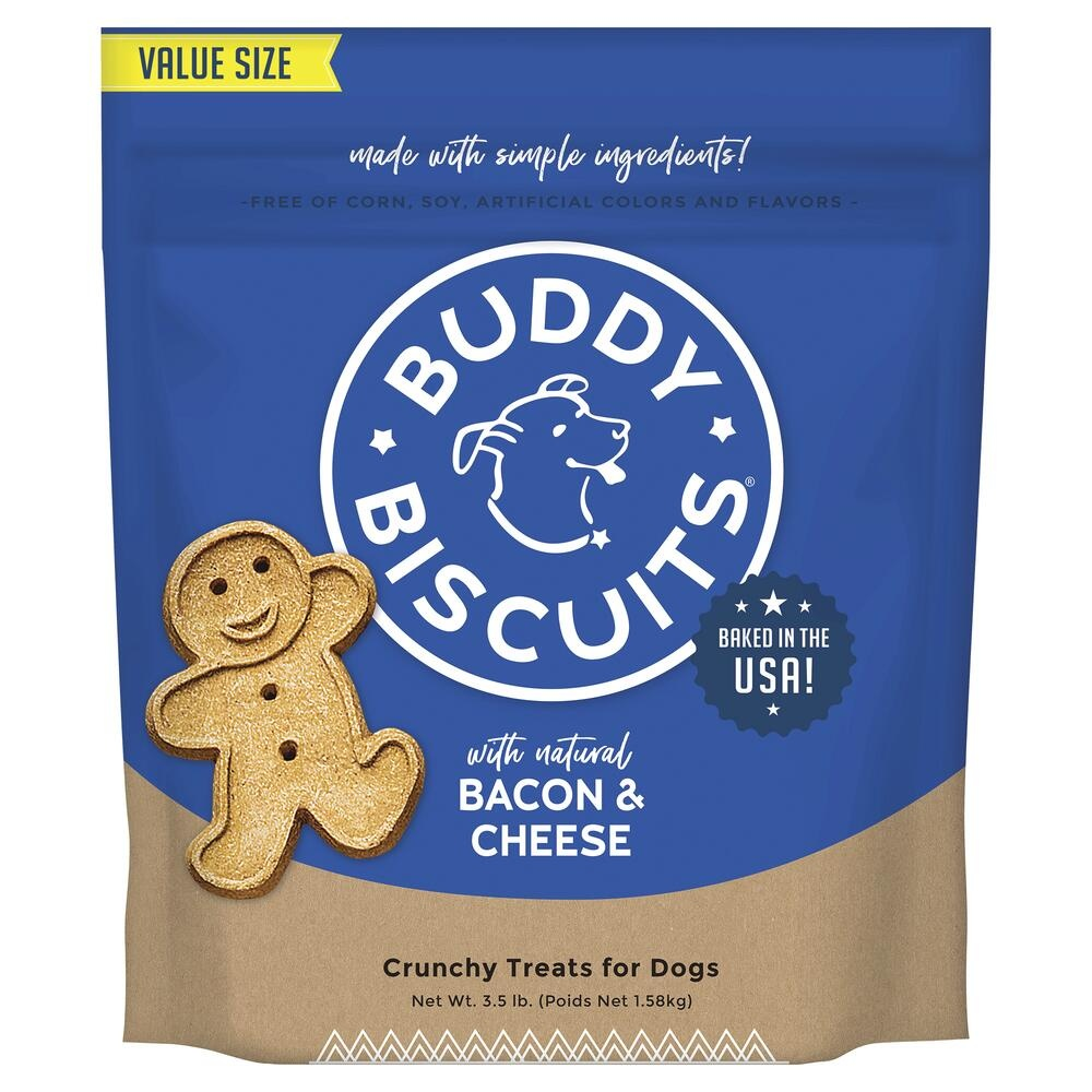 Cloud Star Buddy Biscuit Bacon Cheese 3.5 lb