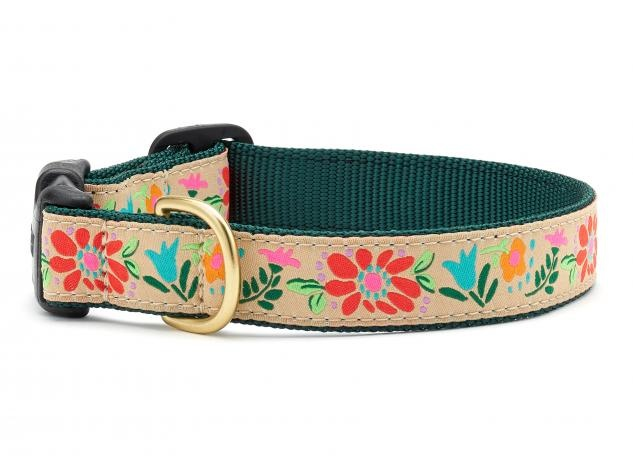 Up Country Collar Tapestry Floral XS Narrow