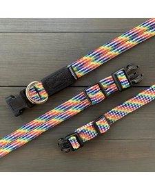 Wilderdog Collar Rainbow SM
