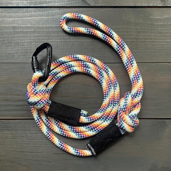 Wilderdog Wilderdog Rainbow Leash 5 ft SM