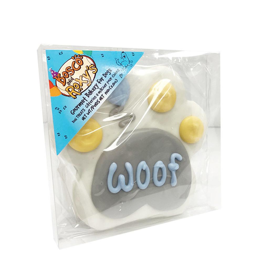 Bosco & Roxy's 4 inch Birthday Woof Paw