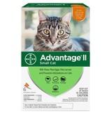 Advantage (Bayer) Advantage II Small Cat, 6 Pack