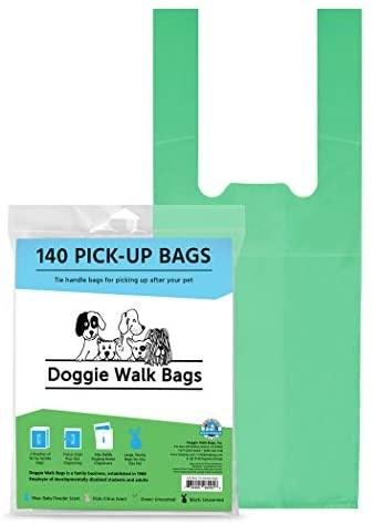 Doggie Walk Bag Green 6pk