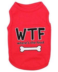 Parisian Pet Where's The Food Dog T-Shirt