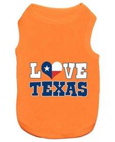 Parisian Pet Love Texas T-Shirt