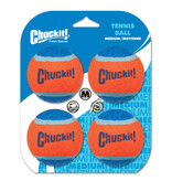 Chuck-It (Petmate) Chuck-It Medium Tennis Ball 4ct