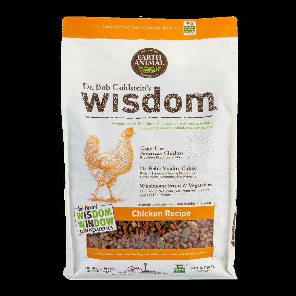 Earth Animal Earth Animal Wisdom Chicken 1lb