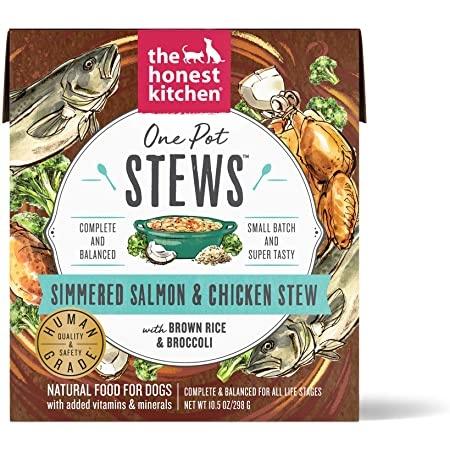 The Honest Kitchen THK One Pot Stews Salmon & Chicken 10.5 oz
