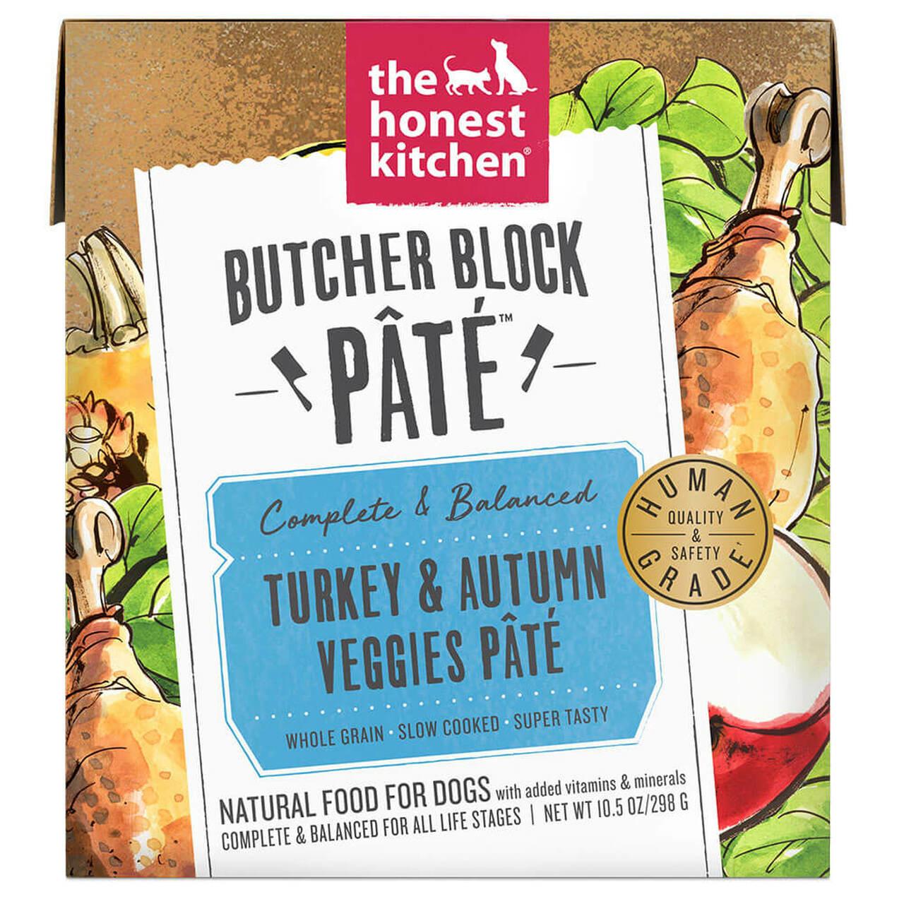 The Honest Kitchen THK Butcher Block Pate Turkey 10.5 oz