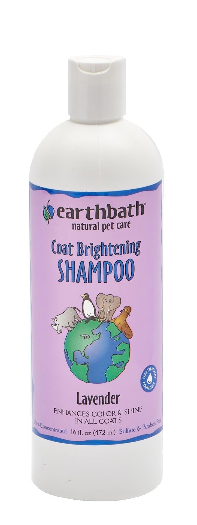 Earthbath Light Color Coat Brightener Shampoo 16 oz