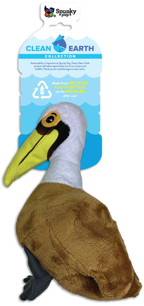 Spunky Pup Spunky Pup Clean Earth Pelican SM