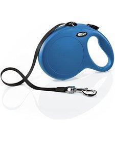 Flexi Retractable Leash Blue LG
