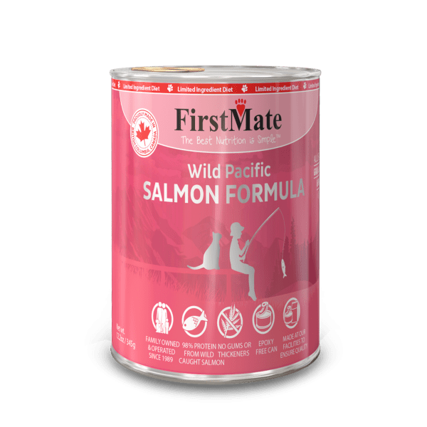 FirstMate First Mate Cat Salmon 12.2 oz
