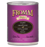 Fromm Family Foods LLC Fromm Gold Salmon & Chicken 12 oz